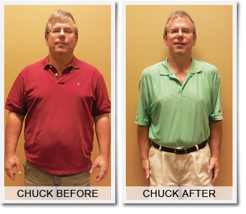 Chuck's 66 lbs Weight Loss Success Story