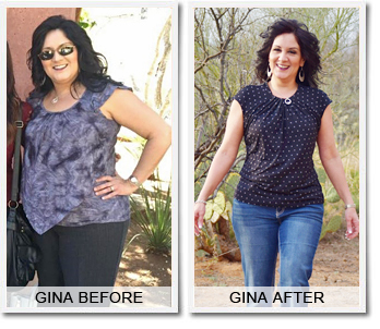 Gina's Weight Loss Success Story