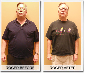 Roger's 65 lbs Weight Loss Success Story