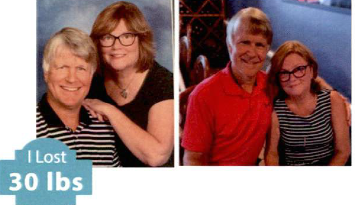 Scott & Becky M Weight Loss Success Story